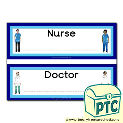 Doctor and Nurse Surgery Signs