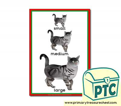 Cats Themed Small - Medium - Large Poster