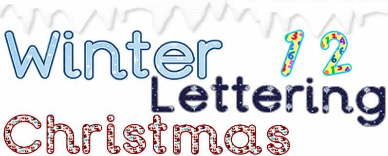 Lettering Menu Image