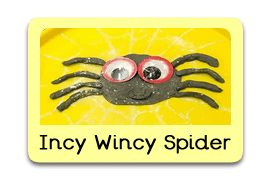 -Incy Wincy Spider Themed Tuff Trays for Toddlers-EYFS Children - Learning Through Play Sessions