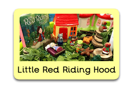 Little Red Riding Hood Themed Tuff Trays for Toddlers-EYFS Children - Learning Through Play Sessions