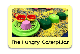 The Hungry Caterpillar Themed Tuff Trays for Toddlers-EYFS Children - Learning Through Play Sessions