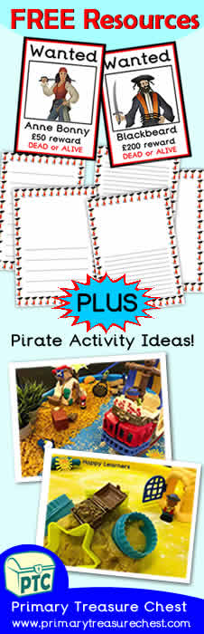 FREE Pirate Resources Banner
