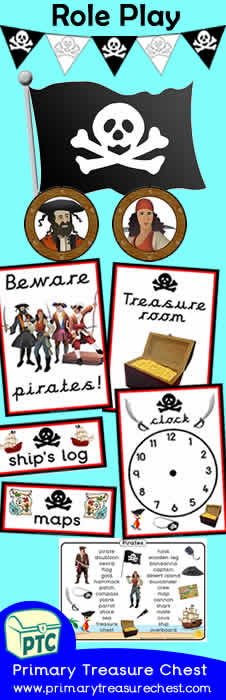 Pirate Role Play Banner