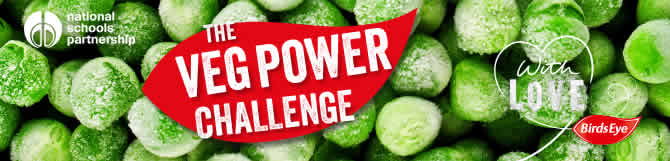 The Veg Power Challenge, brought to you by Birds Eye