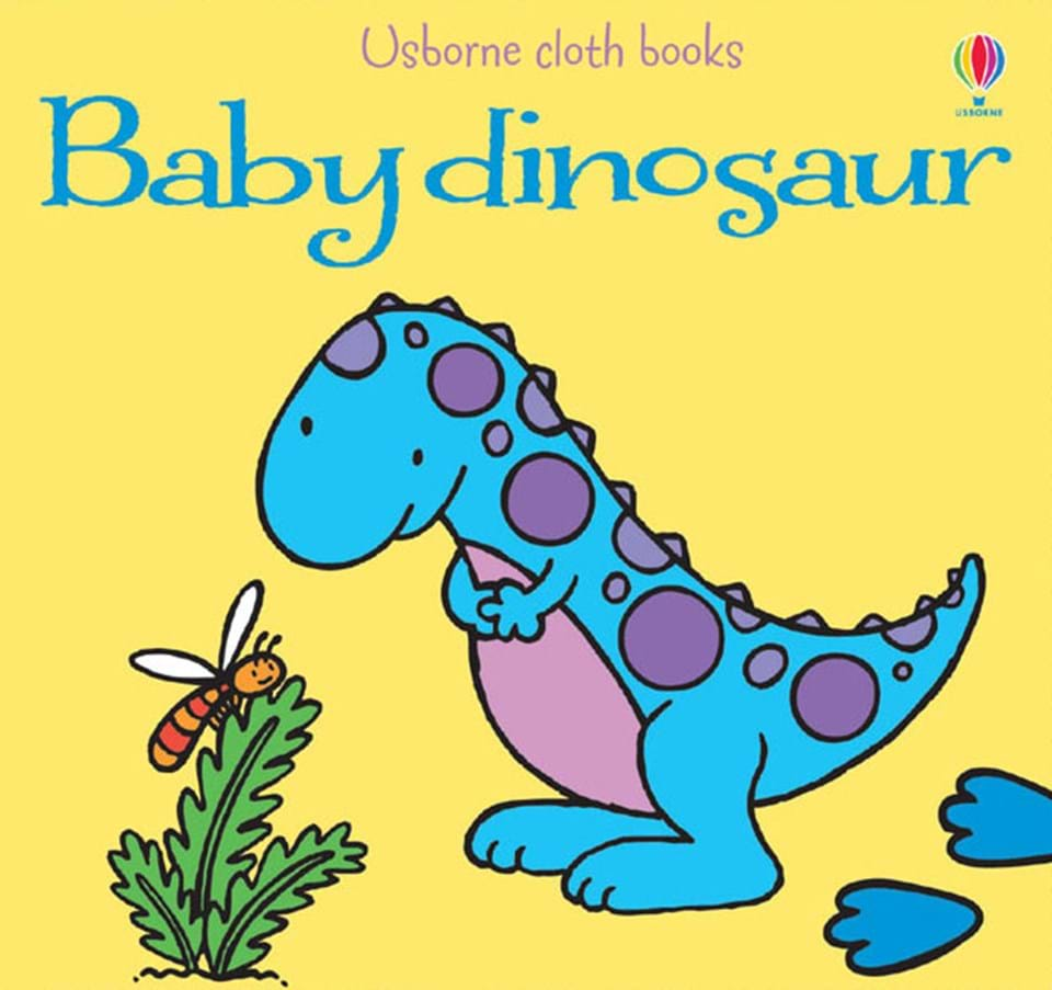 Baby dinosaur cloth book