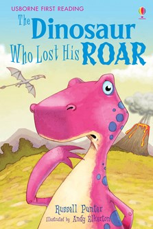 The dinosaur who lost his roar book