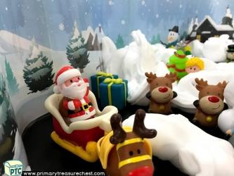 Christmas / Winter Sensory Small World Play Activity Ideas