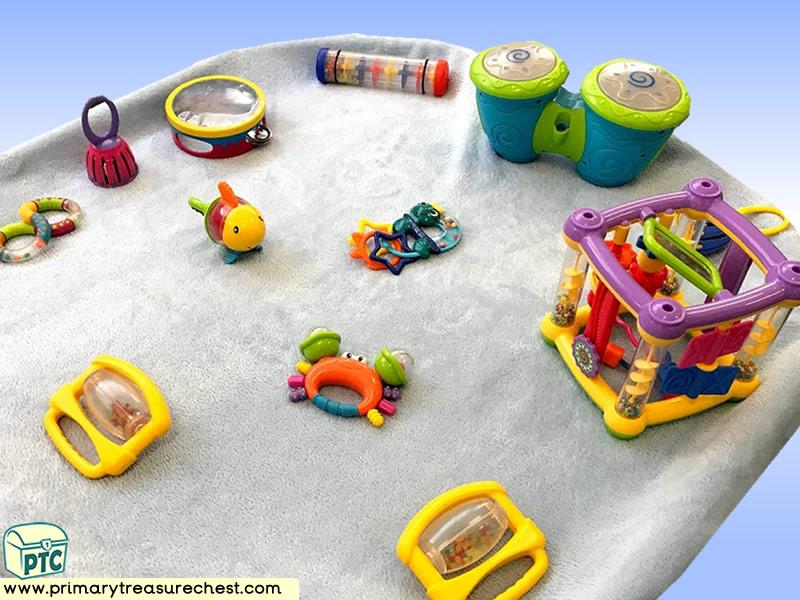 Sea life - Under the Sea Themed Sensory Toys Multi-sensory - Instruments Tuff Tray Ideas and Activities