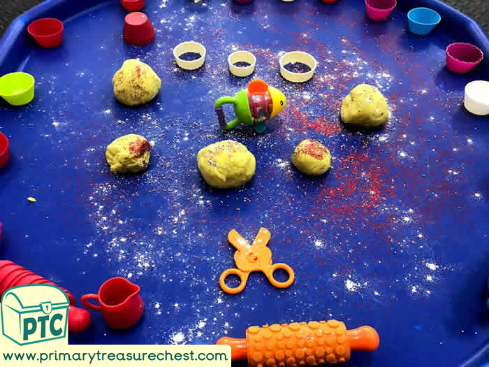 Rainbow Fish Themed Sensory Playdough Activity ideas - Role Play  Sensory Play - Tuff Tray Ideas Early Years – Tuff Spot / Nursery / Primary