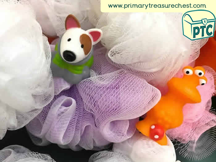 Space Alien Sensory Small World Play - Role Play Sensory Play - Tuff Tray Ideas Early Years / Nursery / Primary