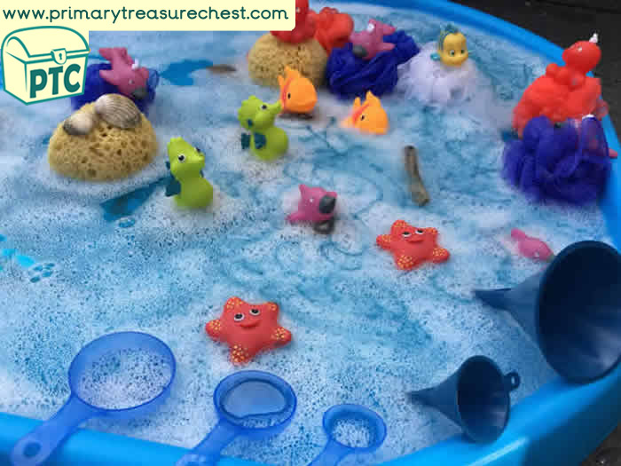 Water - Under the Sea Tuff Tray Small World