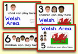 How Many Children... Welsh Area Signs