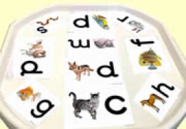 Phonics Activites for Tuff Trays