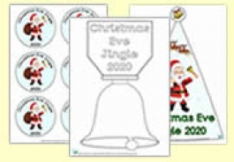 FREE Christmas Eve Jingle Printables - Worldwide Christmas Eve Jingle