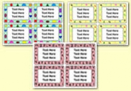 Pupil Work / Book Labels