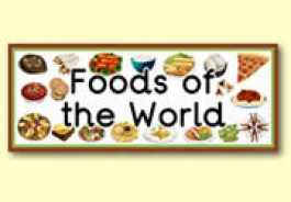 Foods from Around the World Resources