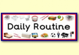 Daily Routine Themed Resources