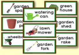 Gardening Equipment Theme Resources