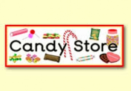 Candy Store Role Play Resources
