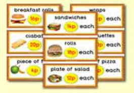 Sandwich Shop Role Play Resources