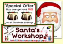 Santa's Grotto/Workshop Role Play Resources - a Foundation Phase / Early Years classroom - primary resources