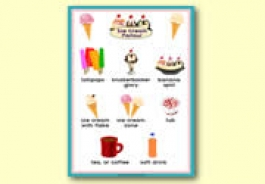 Ice Cream Parlour Role Play Resources