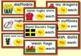 Welsh Gift Shop Resources