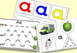 'a' Themed Activities