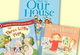 Houses and Homes Themed Books