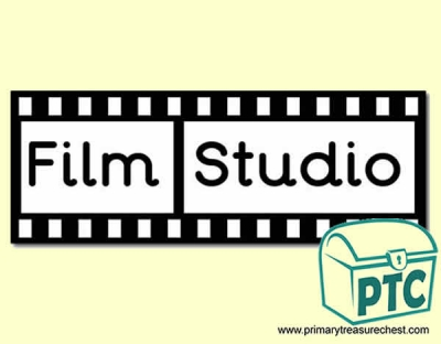 'Film Studio' Display Heading/ Classroom Banner
