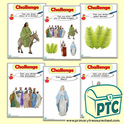 Easter Story Themed ICT Challenge Cards