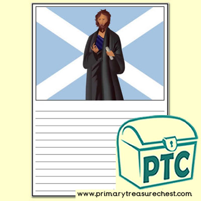 St Andrew's Day writing activity Worksheet