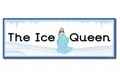 'The Ice Queen' Display Heading/ Classroom Banner