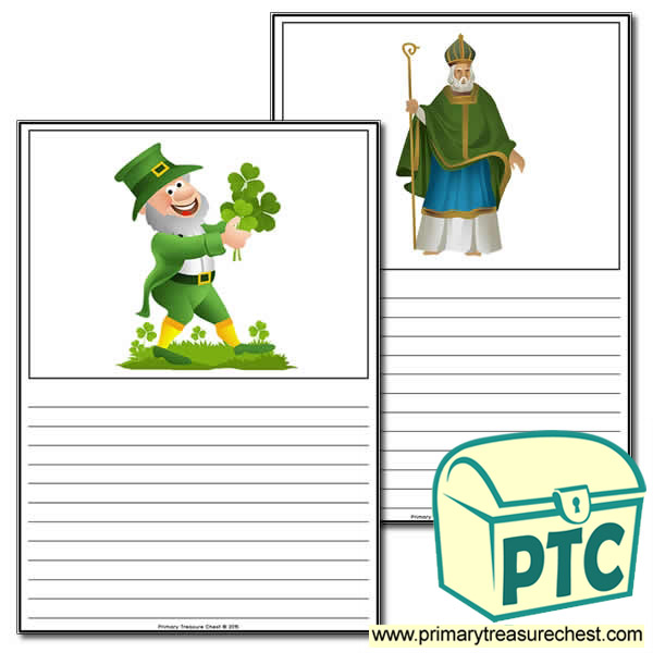 Irish/Saint Patrick's Day Themed Worksheet