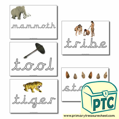 Literacy Playdough Mats - Key Topic Words