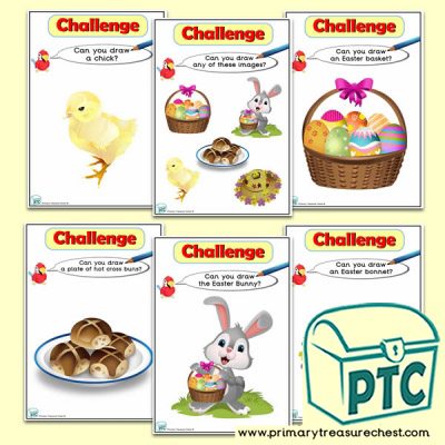 Easter Themed ICT Challenge Cards