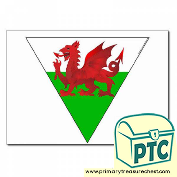 Welsh Flag Bunting