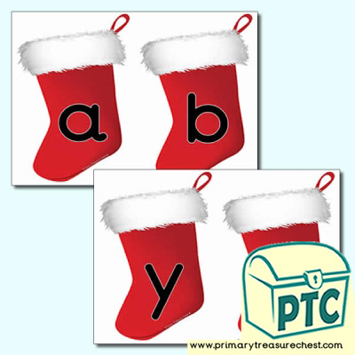 Christmas Stocking Alphabet
