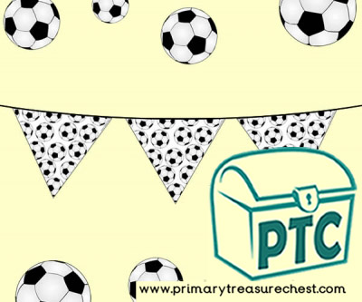 Football Bunting, great for the Football World Cup
