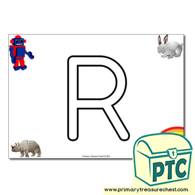 Letter r Themed Pre Writing and Letter Formation Activities