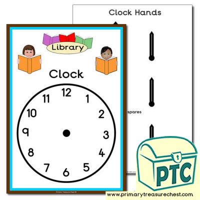 Role Play Library Clock