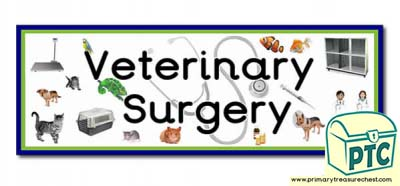 'Veterinary Surgery' Display Heading/ Classroom Banner