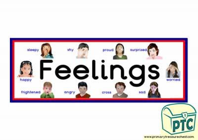 Feelings - Display Heading/ Classroom Banner