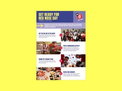 Nose Day School Council Guide