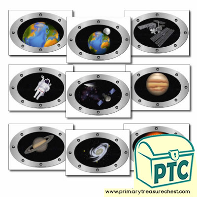 Role Play Space Station Windows / Portholes