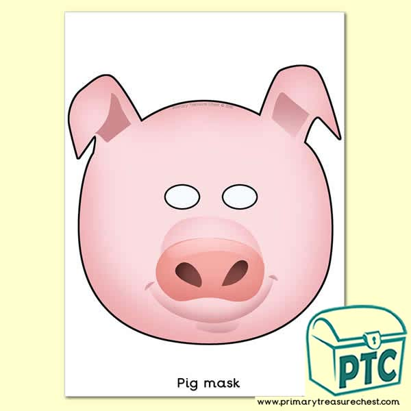 Pig Role Play Mask - Chinese New Year Pig Mask - Year of the Pig