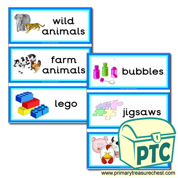 Toys Themed Flashcards