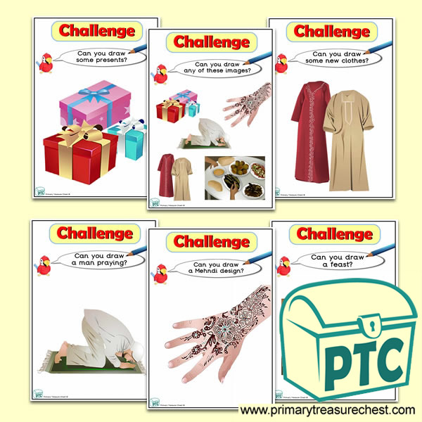 Eid al-Fitr Themed ICT Challenge Cards