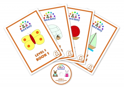 Level 1 Pack - For ages 3  to 5